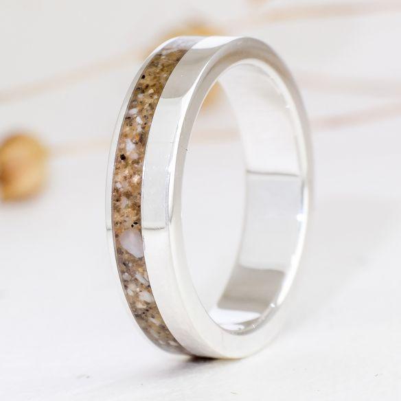 Anillos con Arena Anillo de plata con arena 150,00€ Viademonte Jewelry