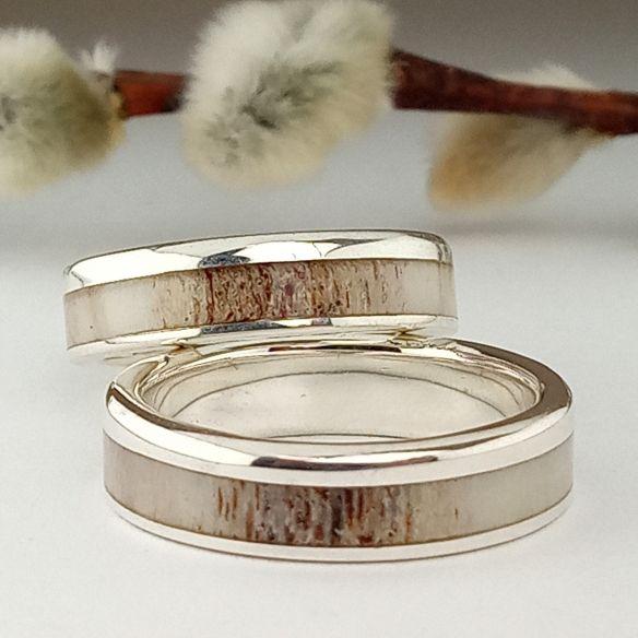 Ringpaare Viademonte Jewelry und Rentiergeweih 280,00 € Viademonte Jewelry