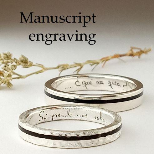 Incisione manoscritta