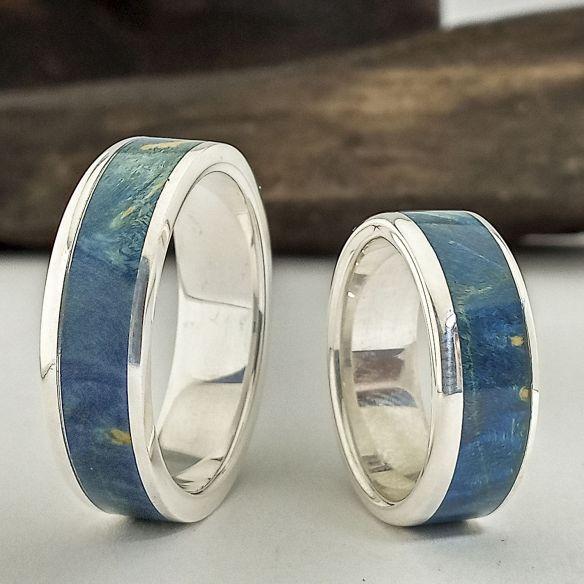 anillos de boda de plata originales