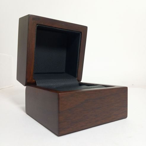Luxury wooden box for ring