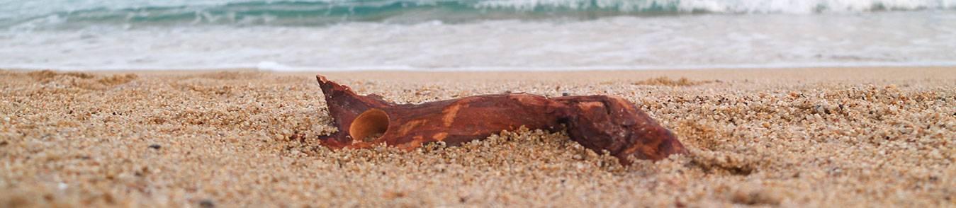Nur Holzringe - Kreativer Schmuck mit Holz
